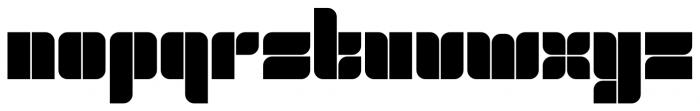 Ruman Regular Font LOWERCASE