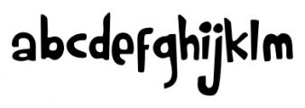 Rumpelstiltskin Regular Font LOWERCASE