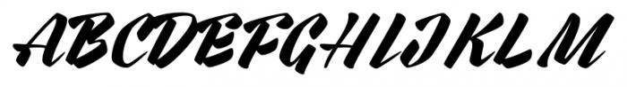 Rurable Regular Font UPPERCASE