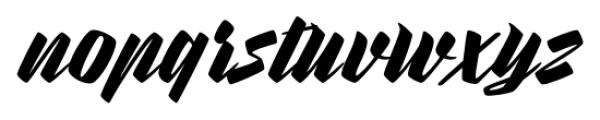 Rurable Regular Font LOWERCASE