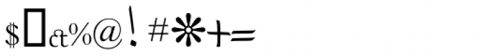 RUQAA Light Font OTHER CHARS