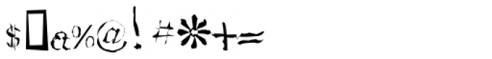 RUQAA Ran Font OTHER CHARS