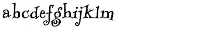 RUSerius ROB Font LOWERCASE