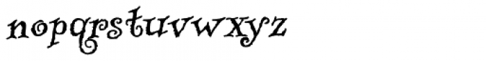 RUSerius Font LOWERCASE