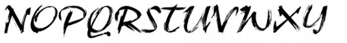 Ruach Std Font UPPERCASE