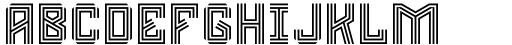 Rubas Olympic Font LOWERCASE