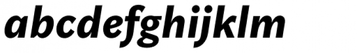 Rubiesque Black Italic Font LOWERCASE
