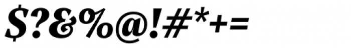 Rubis Black Italic Font OTHER CHARS