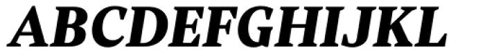 Rubis Black Italic Font UPPERCASE