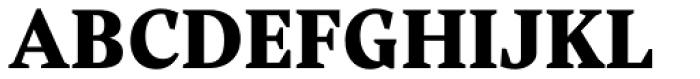 Rubis Black Font UPPERCASE