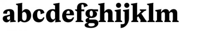 Rubis Black Font LOWERCASE