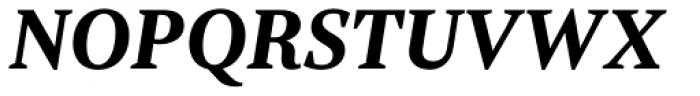 Rubis Bold Italic Font UPPERCASE