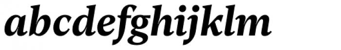 Rubis Bold Italic Font LOWERCASE