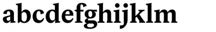Rubis Bold Font LOWERCASE