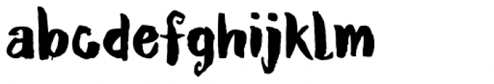 Ruby Red Font LOWERCASE