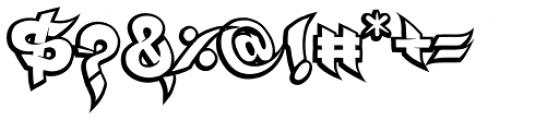 Ruckus Font OTHER CHARS