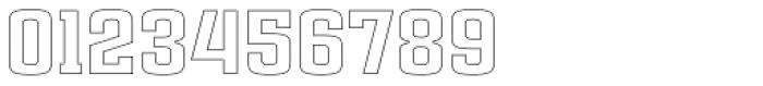 Ruda Slab Outline Unicase Font OTHER CHARS