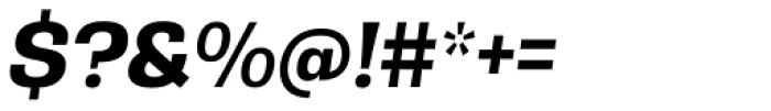 Rude Bold Italic Font OTHER CHARS
