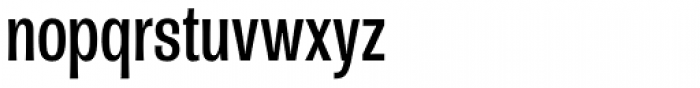 Rude ExtraCondensed Book Font LOWERCASE
