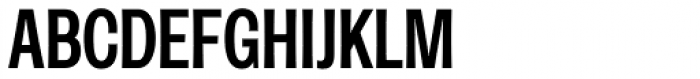 Rude ExtraCondensed Medium Font UPPERCASE