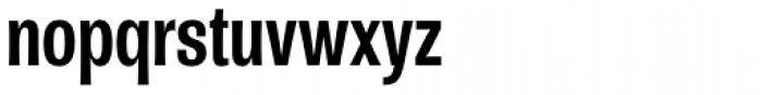 Rude ExtraCondensed Medium Font LOWERCASE