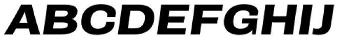 Rude ExtraWide Bold Italic Font UPPERCASE