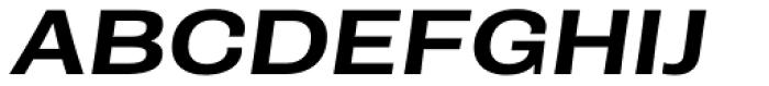Rude ExtraWide Medium Italic Font UPPERCASE