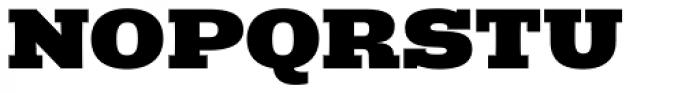 Rude Slab ExtraWide Black Font UPPERCASE