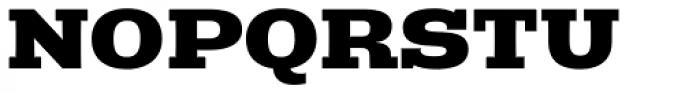 Rude Slab ExtraWide Extra Bold Font UPPERCASE