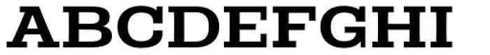 Rude Slab ExtraWide Medium Font UPPERCASE