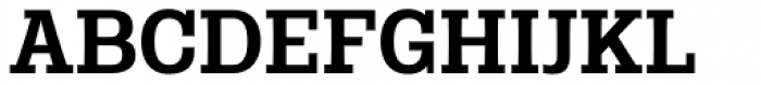 Rude Slab Medium Font UPPERCASE