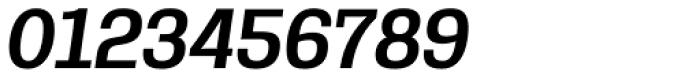 Rude Slab SemiCondensed Medium Italic Font OTHER CHARS