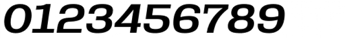 Rude Slab SemiWide Medium Italic Font OTHER CHARS