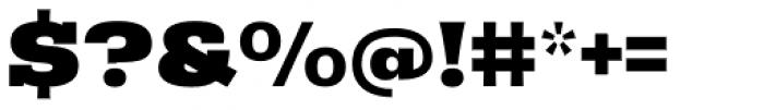 Rude Slab Wide Black Font OTHER CHARS