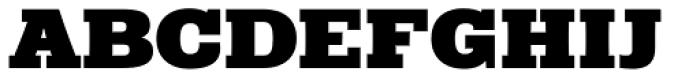 Rude Slab Wide Black Font UPPERCASE