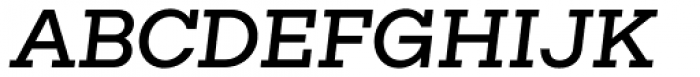 Rudi Medium Italic Font UPPERCASE