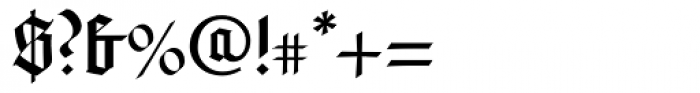 Rudolph Regular Font OTHER CHARS
