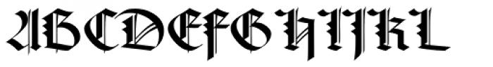 Rudolph Regular Font UPPERCASE