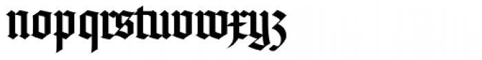 Rudolph Regular Font LOWERCASE