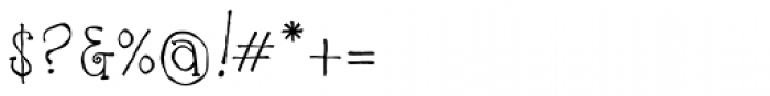 Ruff NReady Font OTHER CHARS