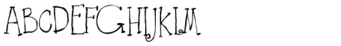 Ruff NReady Font UPPERCASE