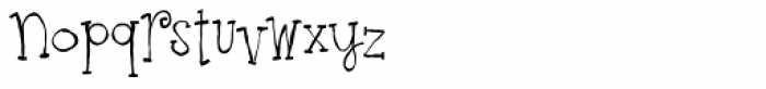 Ruff NReady Font LOWERCASE