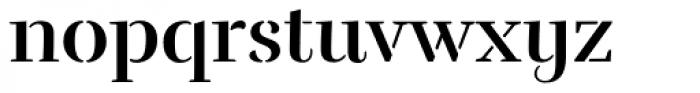Rufina Stencil Alt 02 Bold Font LOWERCASE