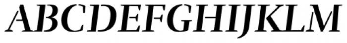 Rufina Stencil Bold Italic Font UPPERCASE