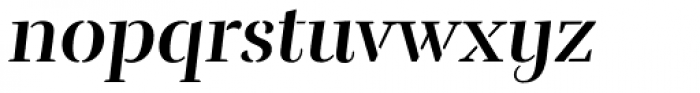 Rufina Stencil Bold Italic Font LOWERCASE