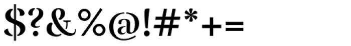 Rufina Stencil Bold Font OTHER CHARS