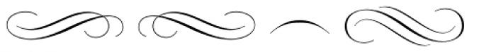 Rufina Stencil Ornaments Font LOWERCASE