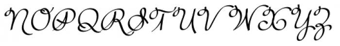 Rufus Script Semi Bold Font UPPERCASE