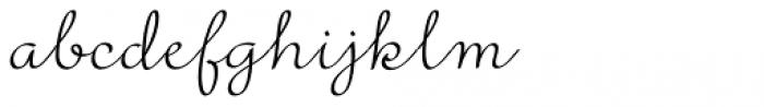 Rufus Script Semi Bold Font LOWERCASE
