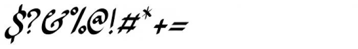 Ruhaniyat Font OTHER CHARS